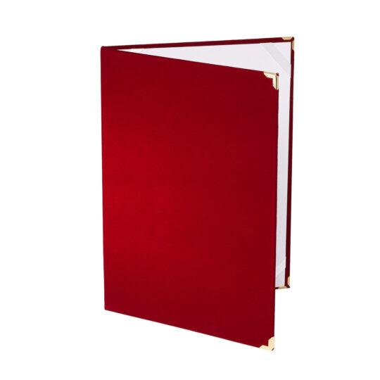 Mapa diploma A4 culoarea rosie