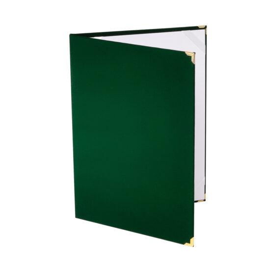 Mapa diploma A4 verde