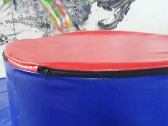 cilindru rulari albastru cu rosu