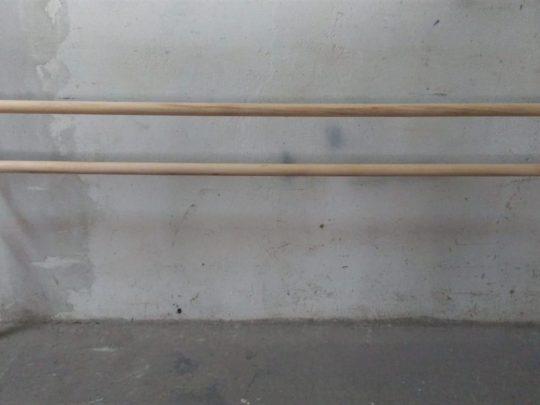 consola balet fixare pe pardoseala,doua console si bara