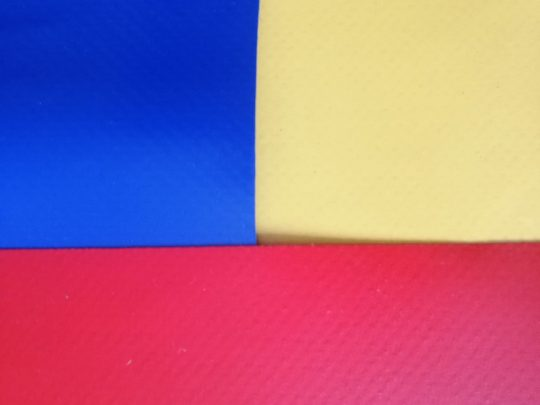 prelata protectie, mostre de 3 culori